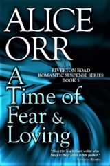 A Time Of Fear & Loving book cover art