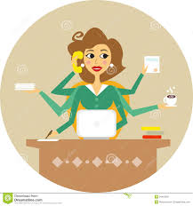 Hard Working Woman image