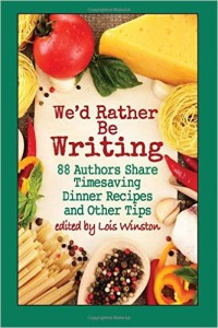 Cookbook - We'd Rather Be Writing