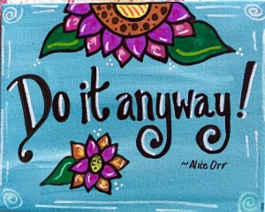 DO IT ANYWAY from Marie Duess
